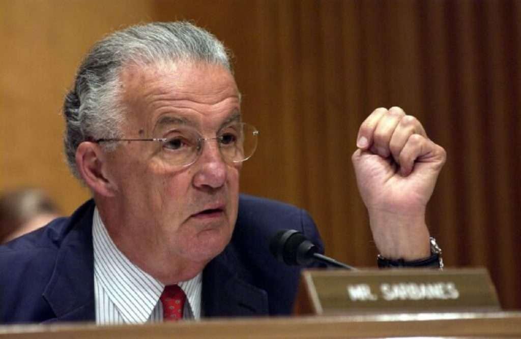 Paul S. Sarbanes   Ο υπέρμαχος των ελληνικών δικαιωμάτων στην αμερικανική Γερουσία