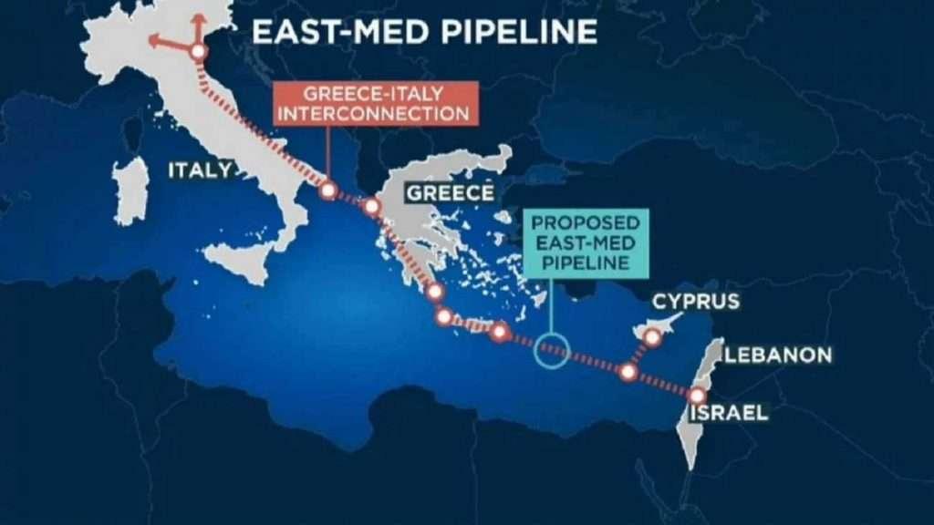 Τέλος πετρέλαια - East Med |  Η Ελλάδα βάζει την Αν. Μεσόγειο στην κατάψυξη