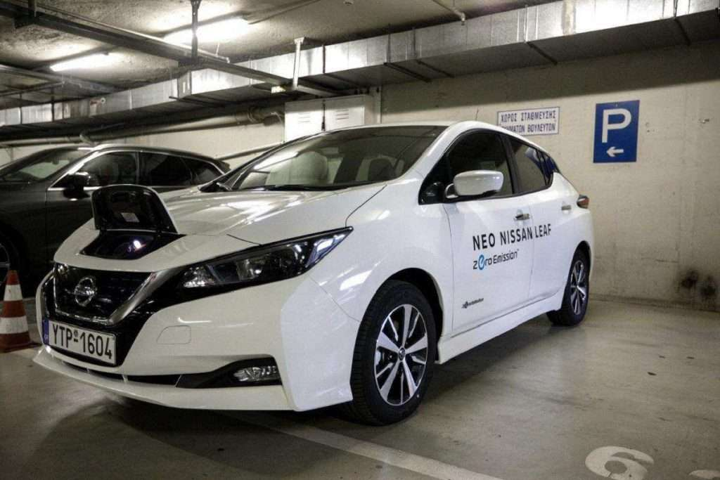 electric car hlektroniko atokinito