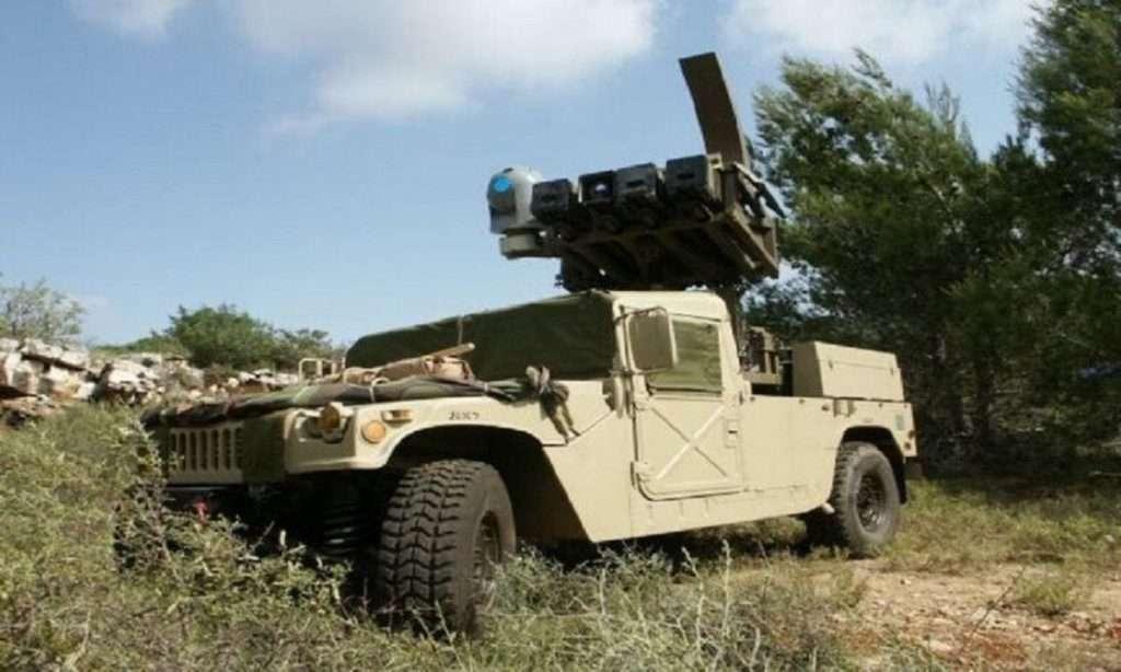 Spike NLOS σε Μ1117 και Humvee | Ενισχύεται ο Στρατός Ξηράς