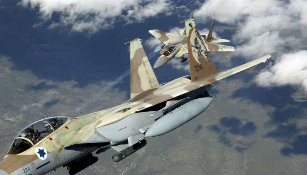 Two F 15I Raam ISREAL ISRAIL