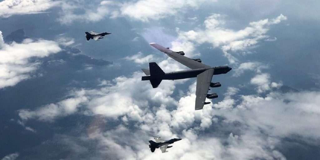 Spartan Sword | Συνεκπαίδευση ΕΔ με την Πολεμική Αεροπορία των ΗΠΑ και το θηριώδες B-52