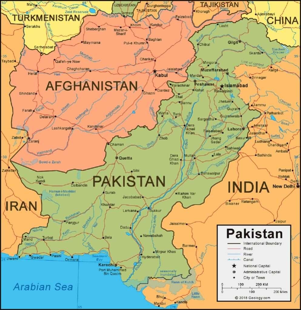 afganistan pakistan 1