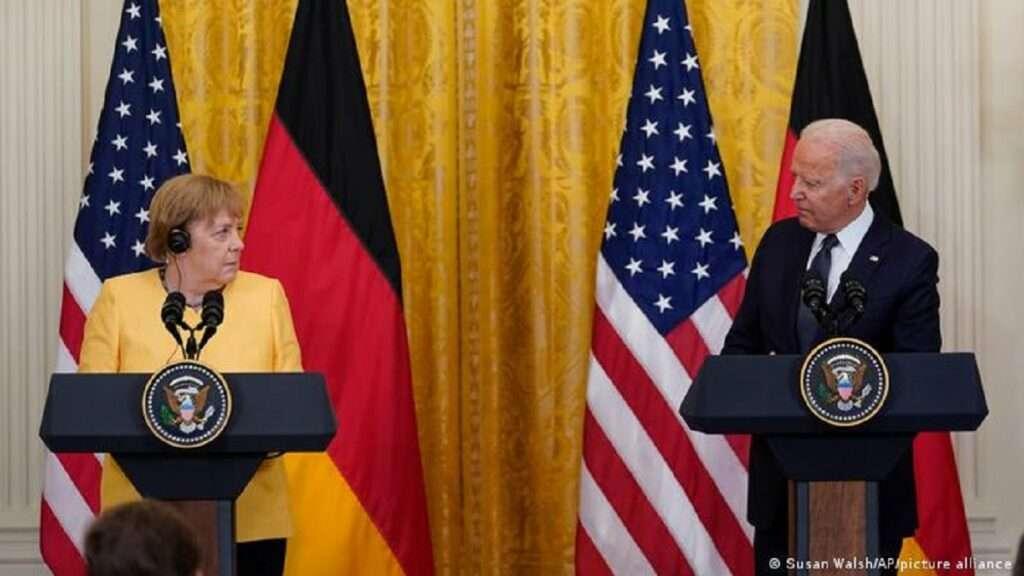 Μπάιντεν και Μέρκελ κατά της Ρωσίας | Διαφωνούν για Nord Stream 2 και Κίνα