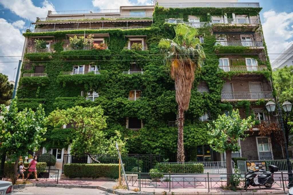 Οι κατακόρυφοι κήποι της Αθήνας   ΚΑΤΑΚΟΡΥΦΟΙ ΚΗΠΟΙ ΚΑΙ ΚΡΕΜΑΣΤΑ ΜΠΟΣΤΑΝΙΑ