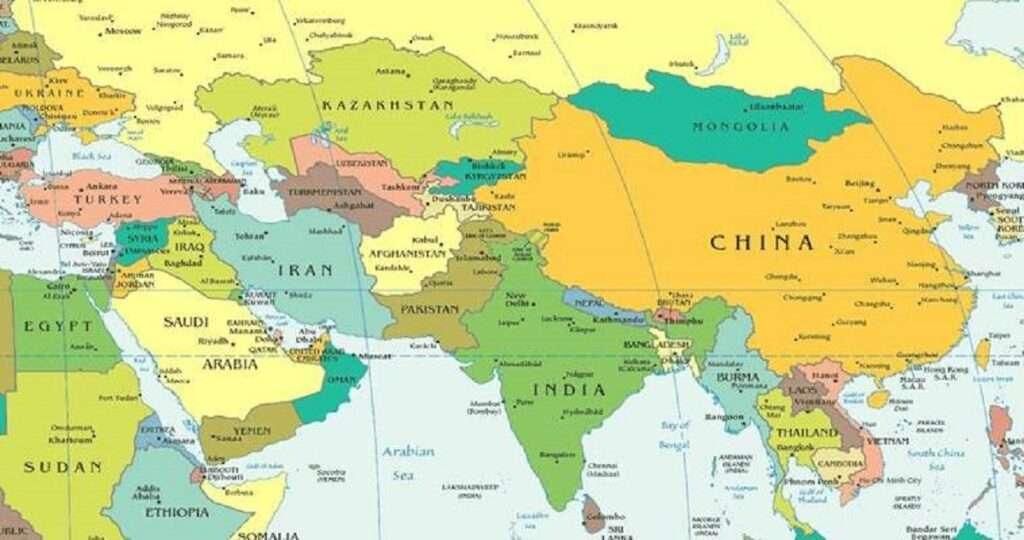 india afganistan pakistan kina